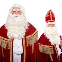 Sinterklaas pruik baard kwaliteit kanekalon