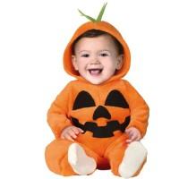 Baby pompoen pakje halloween kostuum