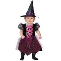 Heksen jurkje baby Halloween pakje