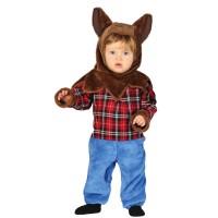 Baby weerwolf kostuum Halloween pakje
