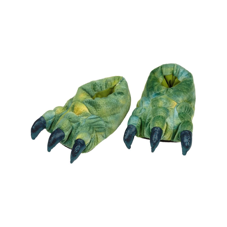 Dinosaurus sloffen kind pantoffels Tyrannosaurus poten