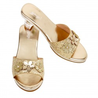 Gouden prinsessen schoentjes slippers prinsessenschoenen kind