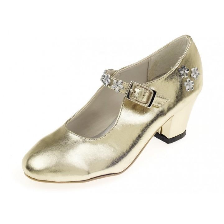 Prinsessen schoenen kind Sabine goud