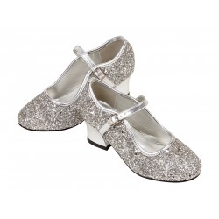 Prinsessen schoenen kind Marguerita zilver