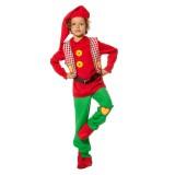 Kabouter kostuum kind carnaval verkleedkledij