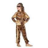 luipaard trainingspak kind panter print joggingpak
