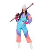 Retro skipak dames carnaval kostuum