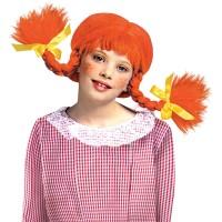 Pippi Langkous pruik kind carnavalspruik feestpruik