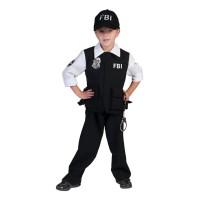 FBI kostuum kind carnaval agent pakje