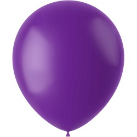 Paarse ballonnen Orchid Purple mat 33cm 10st