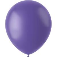 Blauwe ballonnen mat Cornflower 33cm 10st