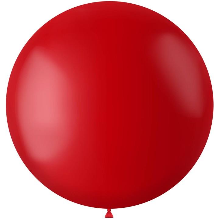 Rode XL ballon Ruby Red mat 78 cm