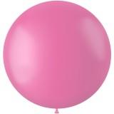 roze xl grote ballonnen latex mat roos