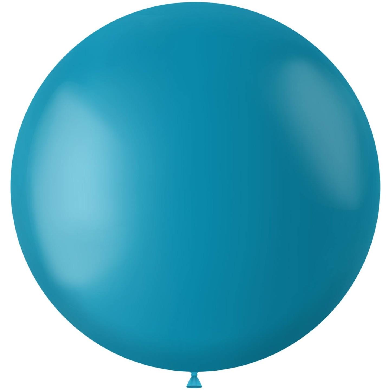 Turquoise xl grot reuze Ballon