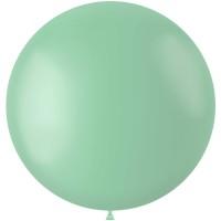 Groene XL ballon mat Pistache Green 78 cm