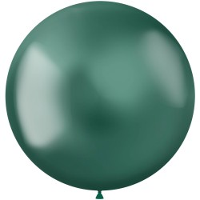 Groene ballonnen Metal Shine Green 48cm 5st