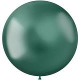 groene xl ballonnen metallic donkergroen