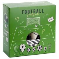 Voetbal versiering Feestpakket 60dlg