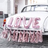 Auto decoratie bruiloft trouwauto versiering huwelijk