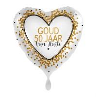 Folie ballon huwelijksverjaardag jubileum 50 jaar getrouwd