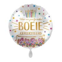 Folie ballon verjaardag jaartje ouder boeie