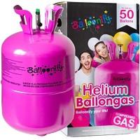 wegwerp helium tank 50 ballonnen ballongas
