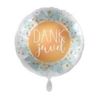 Folie ballon dankjewel 43cm