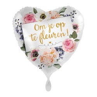 Folie ballon Om je op te fleuren 43cm