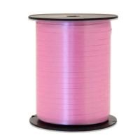 Ballonlint roze 5mm x 500m krullint