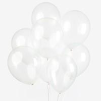 Transparante ballonnen latex 30cm