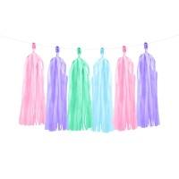 diy tassel slinger pastel ballon versiering