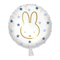 "Foilieballon Nijntje blauw 18""/45 cm"