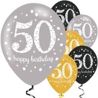 Verjaardag ballonnen 50 jaar verjaardagsfeest versiering