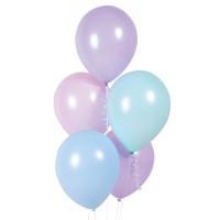 pastel ballonnen macaron mix