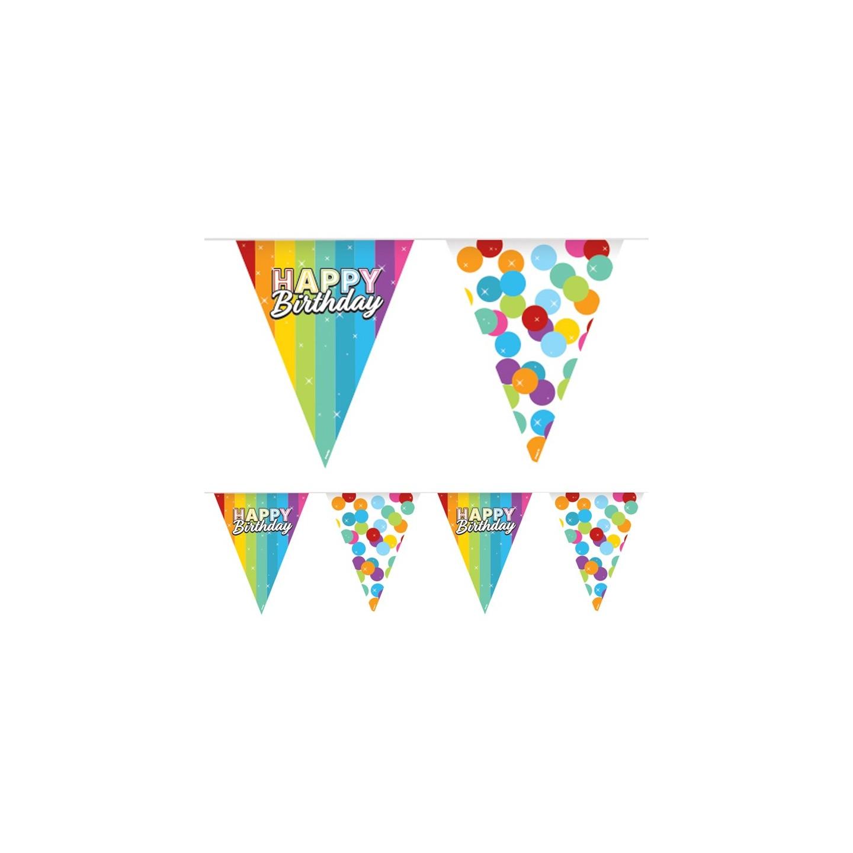 verjaardag versiering vlaggenlijn happy birthday decoratie
