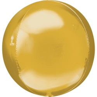 Folieballon Orbz bal Goud 40 cm