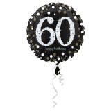 Folieballon verjaardag sparkling 60 jaar