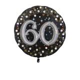 Folieballon multiballoon 3D sparkling 60 jaar