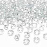 Tafelconfetti diamanten helder 12mm 100st