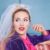 vrijgezellen bruidssluier bride vrijgezellenfeest accessoires