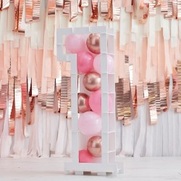 DIY Ballon mozaiek frame cijfer 1- 81cm