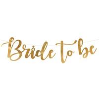 letterslinger bride to be vrijgezellenfeest versiering