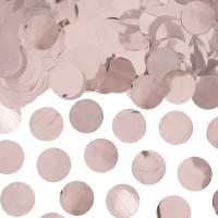 Ballon confetti XL metallic roségoud 15gr