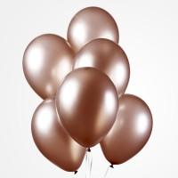 koperen ballonnen metallic goud latex