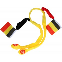 Tiara zwaaiende vlaggetjes Belgie