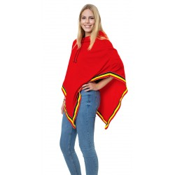 Belgie supporters Poncho