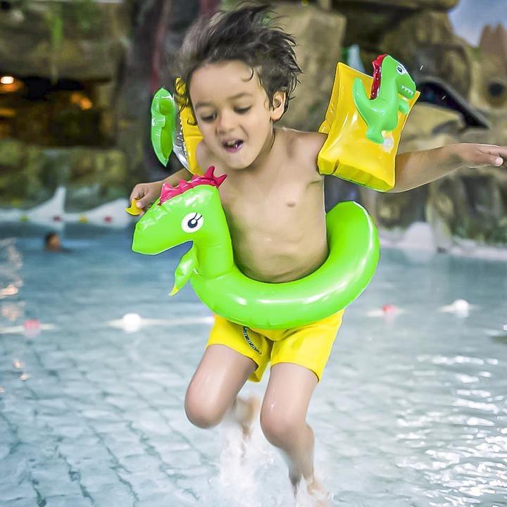 Kinder Zwemband Dinosaurus splitring 3+