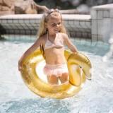 zwemring kind gouden zwaan zwemband zwembad