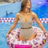 zwemring panter print zwemband zwembad speelgoed