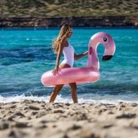 Zwemband Rose Pink Flamingo 110 cm